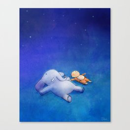 Imagine the Possibilities Canvas Print
