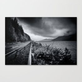 Achmore Road - The Scottish Highlands Canvas Print