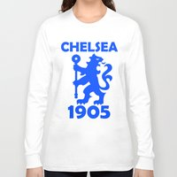 chelsea Long Sleeve T-shirts featuring Chelsea 1905 by Sport_Designs