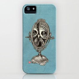 Owl Mirror iPhone Case