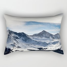 Mtn bowl Rectangular Pillow