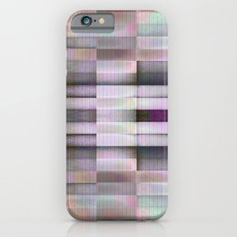 BLOCK STRIPES PATTERN I iPhone Case
