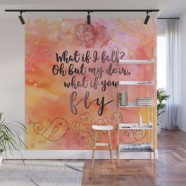 What if you fly? Wall Mural