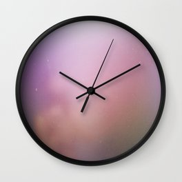 Fog and Light Wall Clock