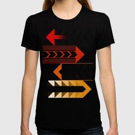 Colourful Arrows Graphic Art Design T-shirt