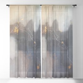 Let It Hold Your Hand Sheer Curtain