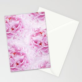 Pink Peonies Dream #2 #floral #decor #art #society6 Stationery Cards
