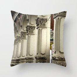 Skidmore Lines Throw Pillow