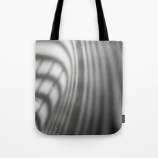 light and shadow - blinds at sink corner Tote Bag