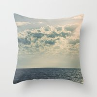 fitzgerald Throw Pillows featuring The Nearness of You by Sharon RG Photography