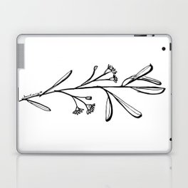 Gum Tree Branch with Blossom by Jess Cargill Laptop & iPad Skin