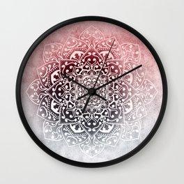 HYGGE WINTER VIBES MANDALA Wall Clock