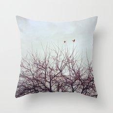 Winter's Breath Throw Pillow