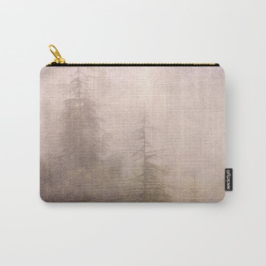 """Mistery forest. Foggy"". Retro serie Carry-All Pouch"