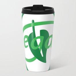 Vegan Monogram Travel Mug