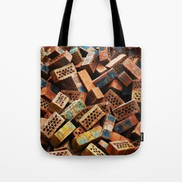 Chinese Bricks Tote Bag