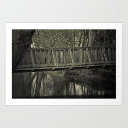 The old Bridge - Summertime Art Print