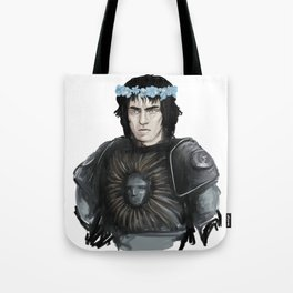 armour and flower crowns Tote Bag