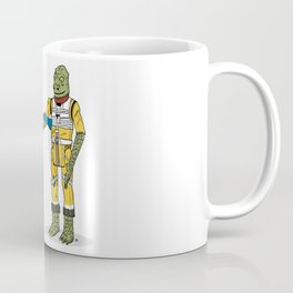 Bossk Action Figure Coffee Mug