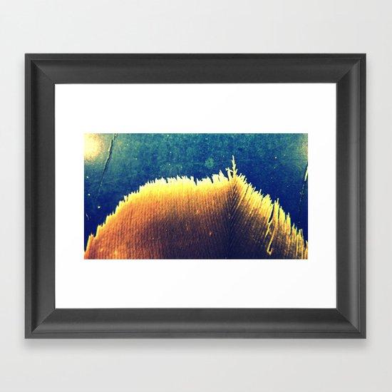 White Edge Framed Art Print