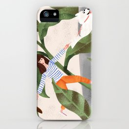 Going On A Walk iPhone Case