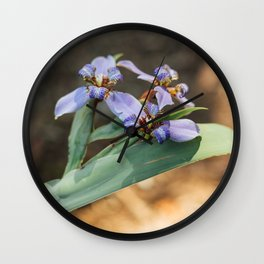 Wildflower Walks Wall Clock