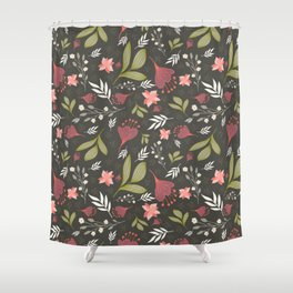 Spring Flowers Style B Shower Curtain