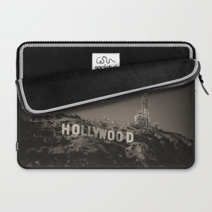 Vintage Hollywood sign Laptop Sleeve