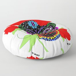 frida catrina ecopop Floor Pillow