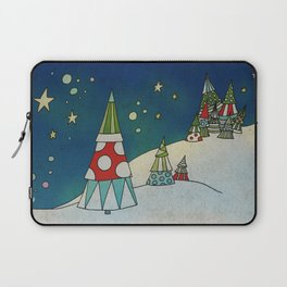 Winter Night on Mountains II Laptop Sleeve