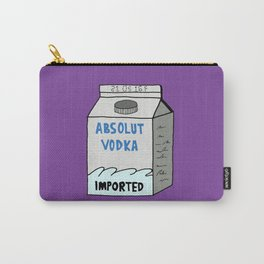 MY KINDA VODKA Carry-All Pouch