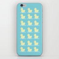 ducks iPhone & iPod Skins featuring Ducks  by Art à la Mutuz