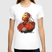 iron maiden T-shirts featuring Iron by DUBELYOO