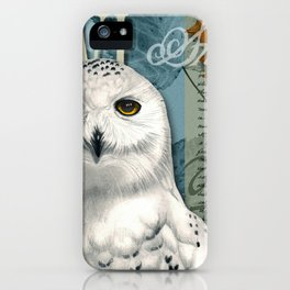 The Snowy Owl Journal iPhone Case