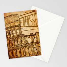Colosseum  Stationery Cards