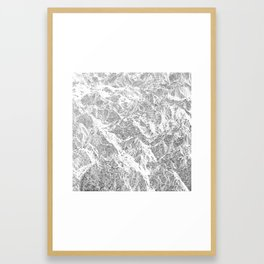 Call of the Mountains Framed Art Print