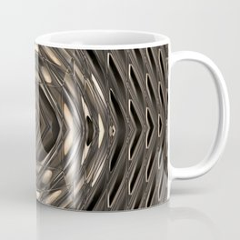 Architectural abstract in four-way symmetry of the Broad, Los Angeles, California Coffee Mug