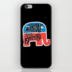 This Machine Elects Fascists iPhone Skin