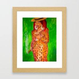 La Gata Framed Art Print