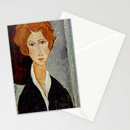 "Amedeo Modigliani ""Portrait of a Woman"" Stationery Cards"
