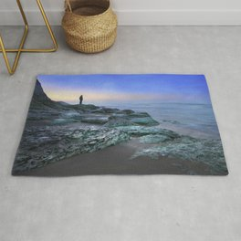 """""""Evening view"""" Rug"""