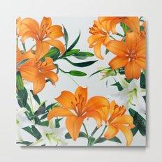 Glorious Lilies Metal Print
