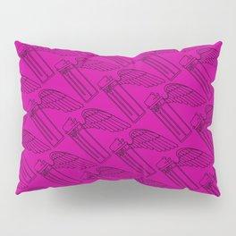 Flying Lighter Pattern - Pink Pillow Sham
