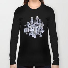 Jumbled City full of assorted junnk Long Sleeve T-shirt