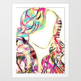 Flirt with me  Art Print