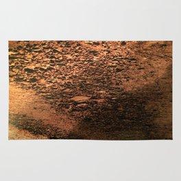 Unique Brown Pattern Rug