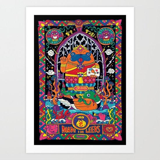 Pug Nang Kwak – Thai Goddess Of Wealth by anukunhamala