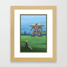 Pixel Art series 13 : The big Framed Art Print