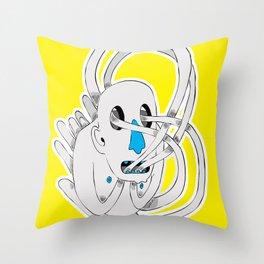 Vacíos infinitos Throw Pillow