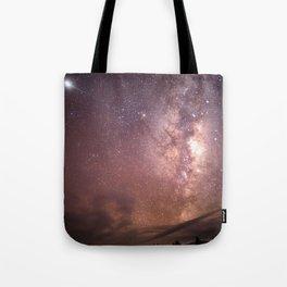 Milky Way Star Burst NZ Tote Bag